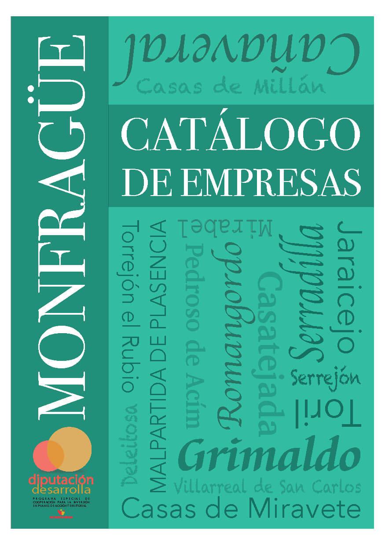 Monfrague catalogo de empresas