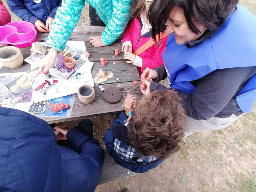 Pequeños Arqueologos