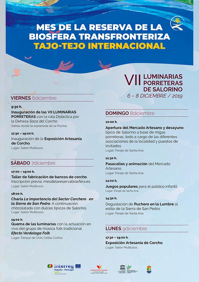 LUMINARIAS PORRETERAS Tajo programa web