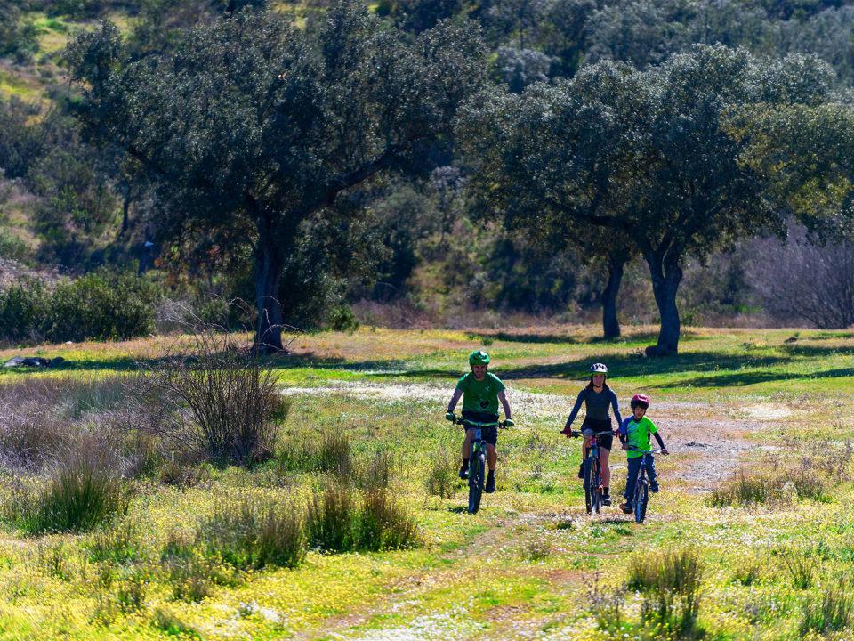 ruta bicicleta electrica reserva biosfera tajo internacional